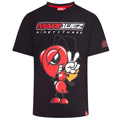 GP Racing T-Shirt MM93 Marc Marquez Ninetythree MotoGP Offical Racing Apparel, XL