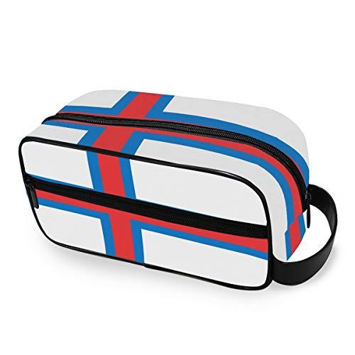 Bolsa de Aseo de Viaje con Bandera de Las Islas Faroe