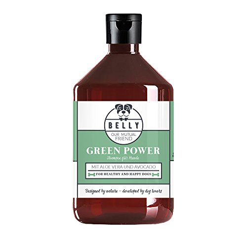 BELLY - Shampoing pour chien et chiots BIO Green Power...
