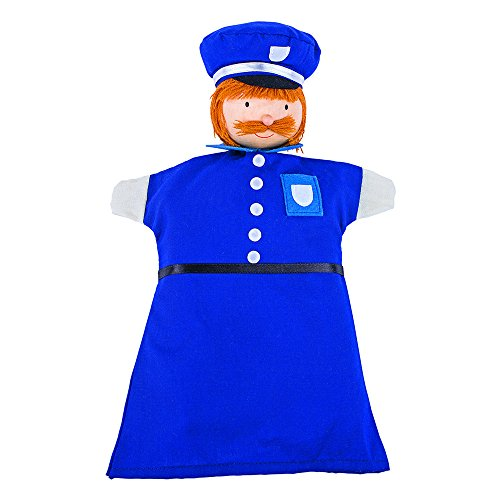 Goki 51646 - Handpuppe Polizist