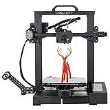Impresora 3D Creality CR-6 SE, diseño mejorado con placa base silenciosa, nueva estructura de boquilla y extrusora, reanudación de la impresión y pantalla táctil en color HD