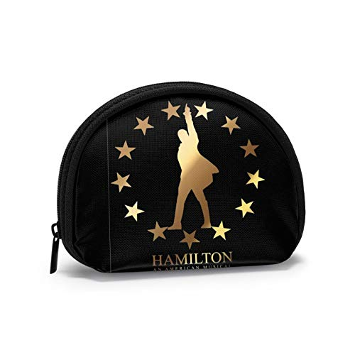 Musicals Hamilton Cosmetic Bags Organizer Portable Pouch Trapezoidal Storage Cosmetic Bag