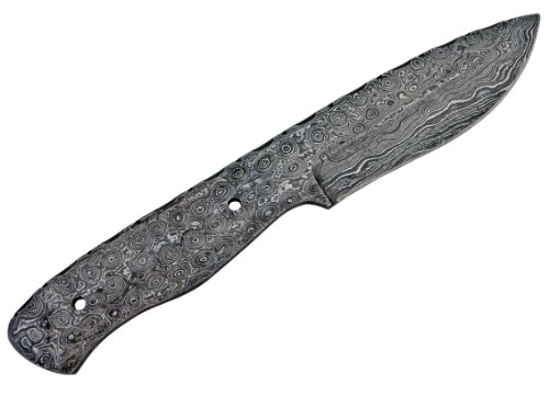 Whole Earth Supply Damascus Large Tactical Knife Blank Blade Hunting...
