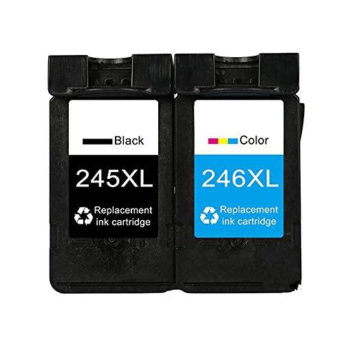 HYYH Compatible para Canon 245 XL Reemplazo de Cartucho de tóner para Canon Pixma IP2820 IP2850 Mg2420 MG2450 MG2520 MG2550 Tóner de Tinta de Impresora, Impresión Estable Suit