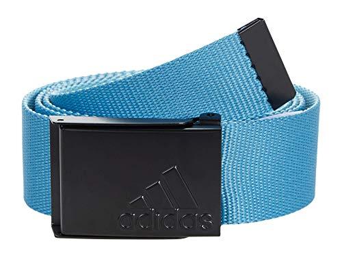 adidas Golf Men's Reversible Web Belt, Hazy Blue, One Size