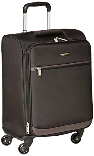 AmazonBasics - Roll-Reisetrolley, 54 cm, , Schwarz