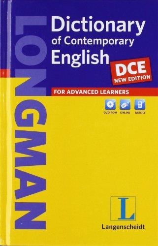 Longman Dictionary of Contemporary English (DCE) - New Edition  - Buch (Hardcover) mit DVD-ROM (Einsprachige Wörterbücher)