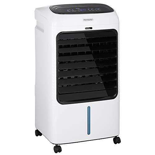 Klimagerät 4in1 Fernbedienung 8L Tank Timer Mobil Luftbefeuchter Ventilator Klimaanlage Ionisator Luftkühler LED Display