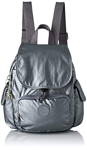Kipling City Pack Mini, Sac à Dos Femme, Gris (Steel...