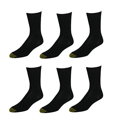 Gold Toe Damen Legere Socken - schwarz -