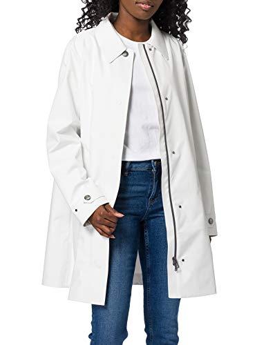 Geox Womens W GENDRY Coat B-2,5 Layers P Jacket, SNOW, 46