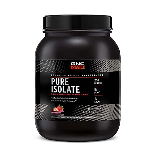 GNC AMP Pure Isolate Protein - Strawberry