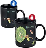 Cartoon Network SCMG24959 Rick and Morty (Portals) Heat Changing Mug, Multicolore