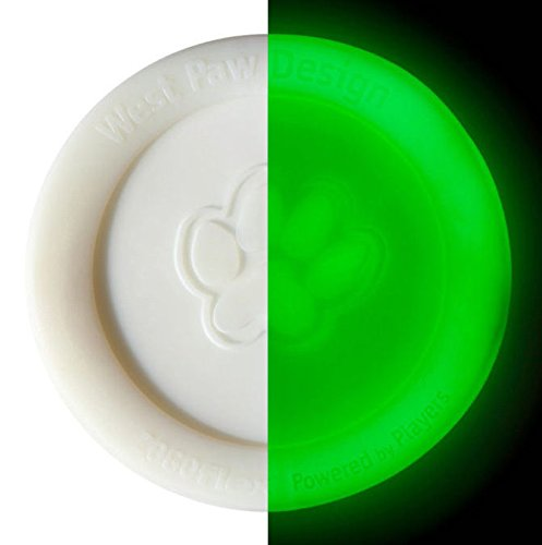 West Paw Zisc Disc Glow-In-The-Dark
