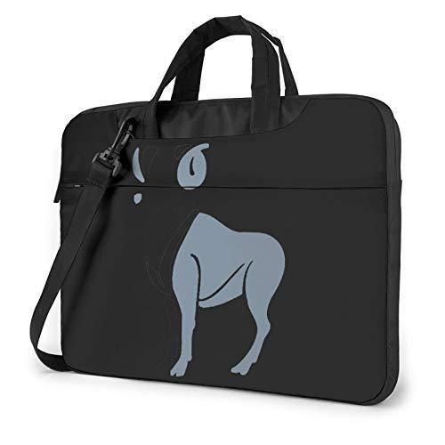 Laptop Case, Ram Zodiac Sign Print Laptop Shoulder Bags Multi-Functional Notebook Sleeve,13-14-15.6 Inch