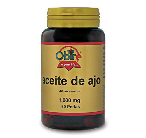 Obire | Aceite de Ajo 1000 mg | 60 Perlas