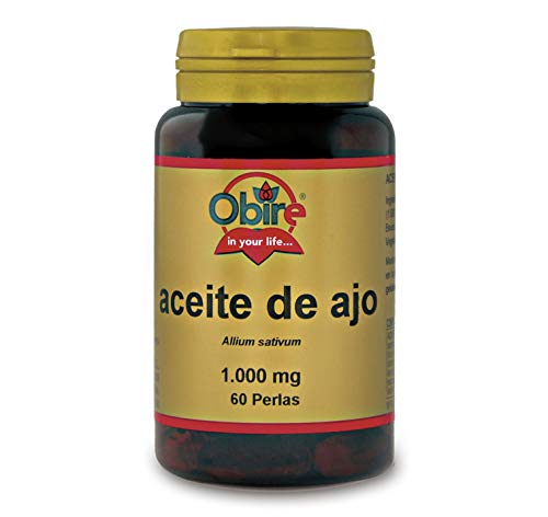 Aceite de ajo 1000 mg. 60 perlas
