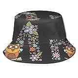 Fodmua, cappello da sole unisex con fiocco di neve, a tesa larga, protezione solare per esterni, allenamento, pescatore, per uomini e donne, giovani, color4