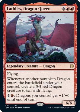 Magic: The Gathering - Lathliss, Dragon Queen - Jumpstart