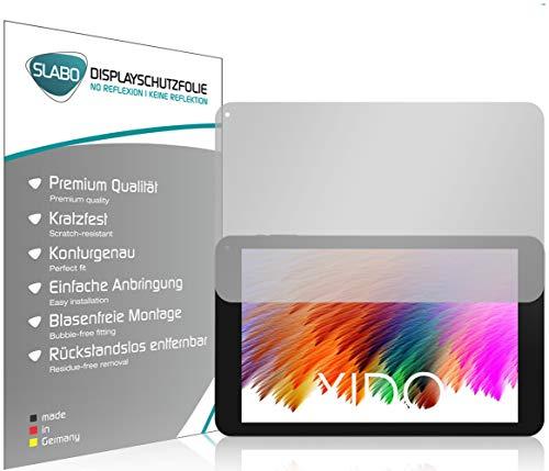Slabo 2 x Bildschirmschutzfolie für XIDO X111 IPS Bildschirmschutz Schutzfolie Folie No Reflexion   Keine Reflektion MATT