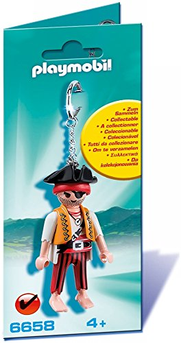 PLAYMOBIL - Llavero Pirata 6658