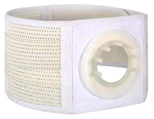 Fortalecer el cinturón de soporte de la hernia del estoma abdominal elástico, cinturones de soporte abdominal y trasero Apoyo a la protección abdominal, cinturón de colostomía femenina de parcel mascu