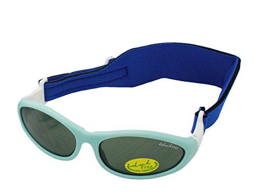 Idol Eyes Wrapz Sonnenbrille für Babys (hellblau)