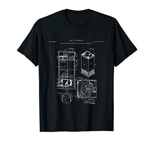 Leslie Speaker Patent t-shirt - music t-shirt