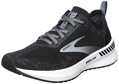 Brooks Damen Bedlam 3 Laufschuh, Black/Blackened Pearl/White, 40 EU