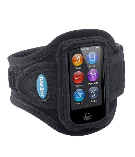 Tune Belt Armband for iPod nano 7th Generation (7G) - AB77 [Black]