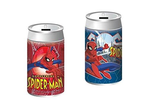 Spiderman Hucha Metal , 1 Unidad