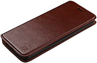 MyBat Wallet Case for ZTE 5200E (Axon Pro) - Retail Packaging - Brown