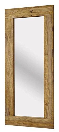 MASSIVMOEBEL24.DE Palisander Massivholz geölt Spiegel Sheesham Holz Möbel massiv braun Nature Brown #842