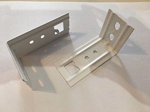 Winkel für Wandmontage Duo Rollo Doppelrollo. Set bestehend aus 2 Stück