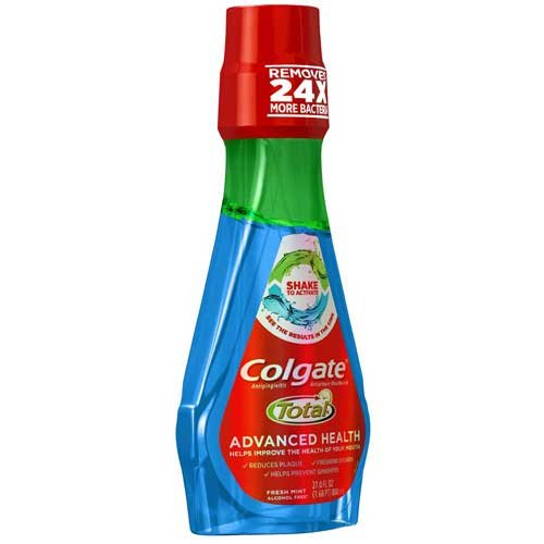 Max overseas 80% OFF Colgate Mint Total Advanced Health Mouthwash 27 Ounce 3 - Fluid