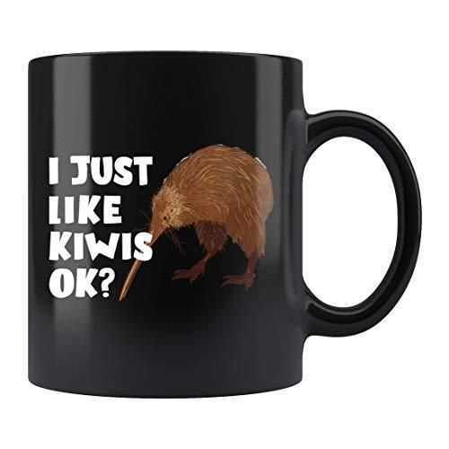 DKISEE Kiwi Tasse Neuseeland Tasse Kiwi Kaffeetasse Kiwis Tasse Kiwi Kaffeetasse Kiwis Geschenke Kiwi Tasse Geschenk für Sie Kiwi Obst Tasse Neuseeland Geschenk