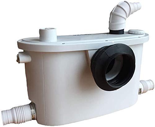 Macerator Pump 4 en 1 bomba sanitaria para inodoro, fregadero, ducha, 400 W