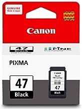 Canon 47 Black Ink Cartridge Pg 47