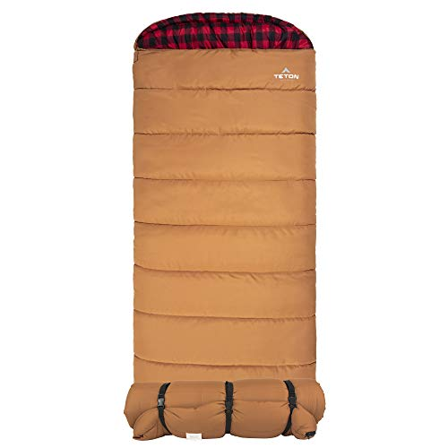 TETON Sports Deer Hunter Sleeping Bag; Warm and...