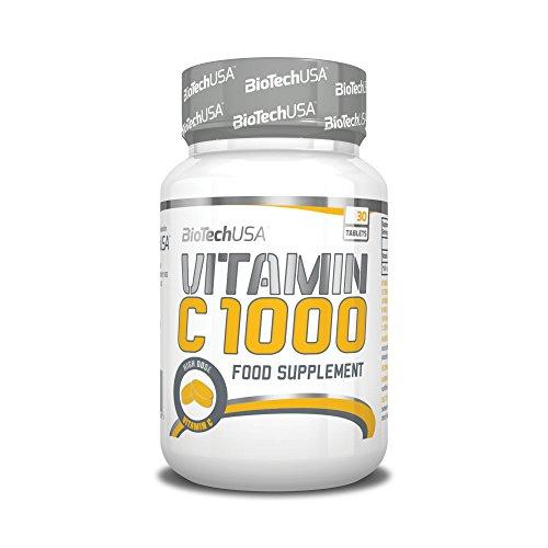 BioTech Vitamin C 1000 Vitamina C, Sin Sabor - 30 gr