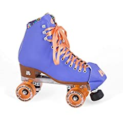 TOP-QUALITY & DURABLE ROLLER SKATES - These lifestyle roller skates are 100% animal-friendly using drum-dyed vinyl and custom Moxi Dri-Lex lining material. The skates have high-impact Marvel die cast aluminum plates with strong metal trucks for optim...