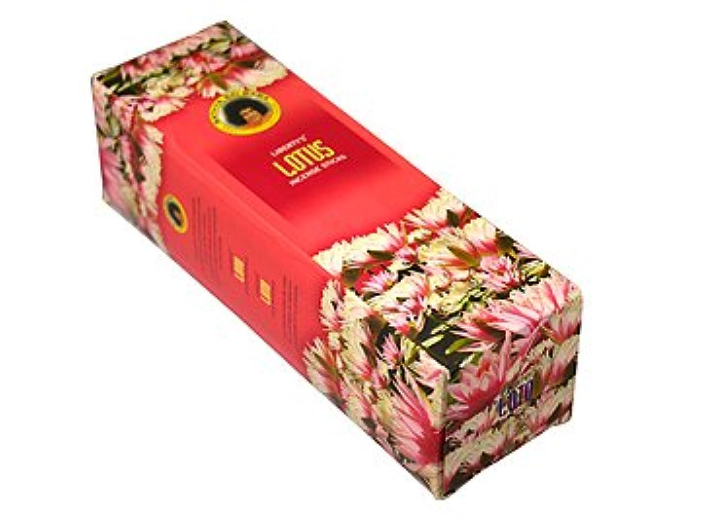フェリー読み書きのできない森林LIBERTY'S(リバティーズ) ロータス香スクエアパック スティック LOTUS 25箱セット