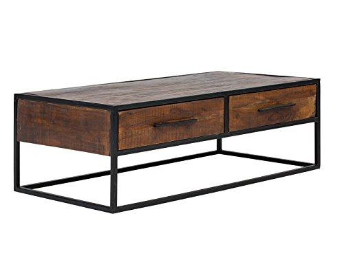 Massivum 10023657 Couchtisch Oklahoma, Holz, braun, 60 x 120 x 40 cm