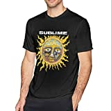 Thimd Sub-li-me - Camiseta de manga corta para hombre negro L