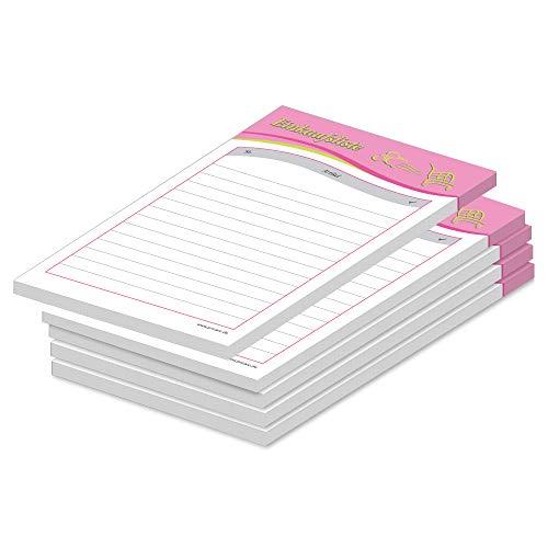 PRICARO - Lista della spesa 'Speed', magnetico, formato A6, 25 fogli, 5 pezzi