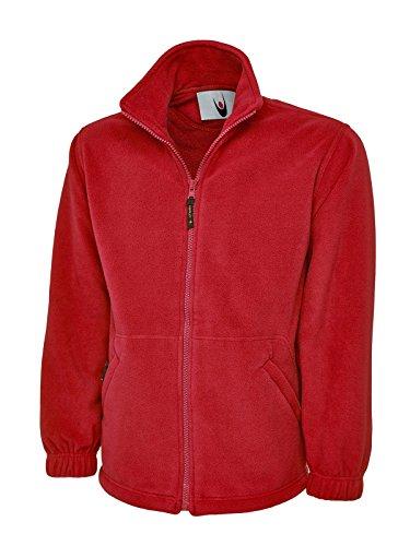Uc601 Uneek Veste en polaire pour hommes - rouge - XXXX-Large