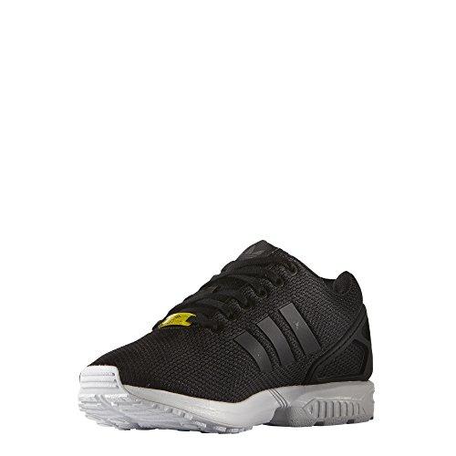 adidas Originals Herren Adidas ZX Flux M19840 Sneaker, Schwarz (Black/Black/White), 44 EU