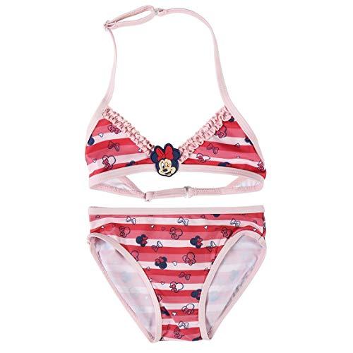 Cerdá Bikini Niña Minnie Mouse de 2 Piezas-6 Años Bañador, Rojo, Pequeño para Niñas