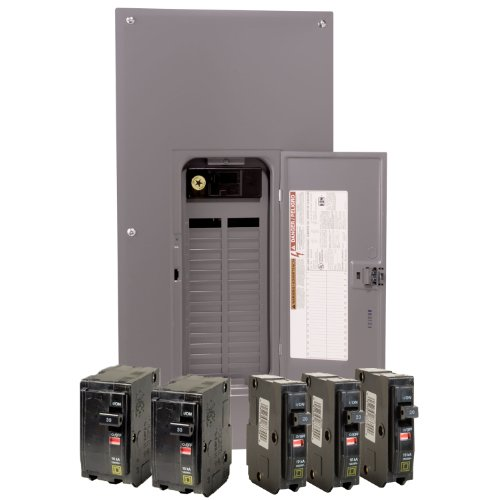 Square D by Schneider Electric QO3040M200VP QO 200-Amp 30-Space 40-Circuit Indoor Main Breaker Load Center with Cover Value Pack