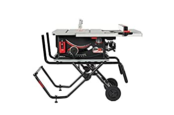 SAWSTOP 10-Inch Jobsite Saw Pro with Mobile Cart Assembly 1.5-HP 12A 120V 60Hz  JSS-120A60